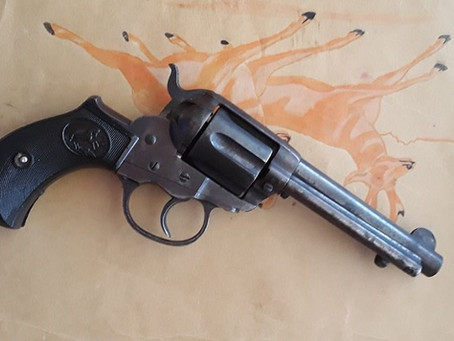 "Colts Model 1877 Double Action ""Self-Cocking"" Revolver"