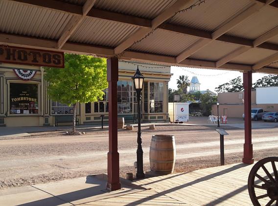 Allen Street Tombstone