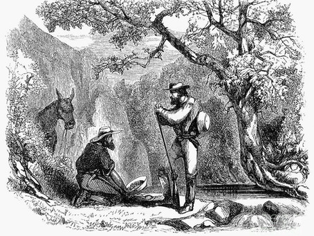 Forgotten Famous Faces: Jonathan R. Davis, The Forgotten Warrior of California's Gold Rush