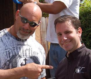 Working with Goldberg on the DIY Channel