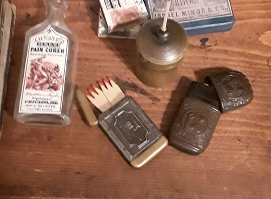 Examples of Matches and Match Safes