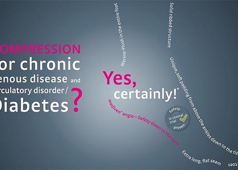 La solución para la EAP concomitante y / o la diabetes