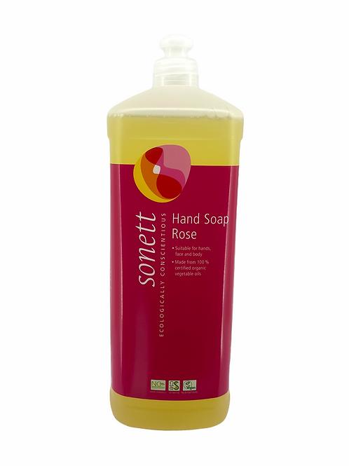 德國 Sonett 環保洗手液 - 玫瑰 (1000毫升) 經濟裝