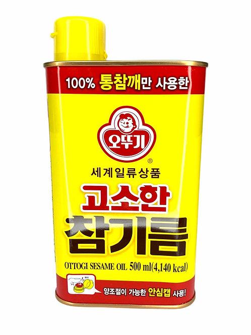 不倒翁 - 韓國不倒翁芝麻油 500ml