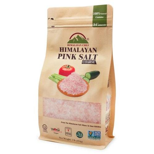 甘菓清 - 喜瑪拉雅山 A Grade 頂級粉紅岩粗鹽 (1磅)