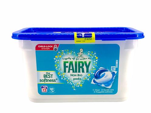 Fairy - 非生物製造洗衣球 12粒
