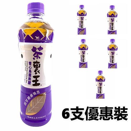 台灣統一集團 - 茶裹王 (無糖) 青心烏龍茶 600 ml x 6