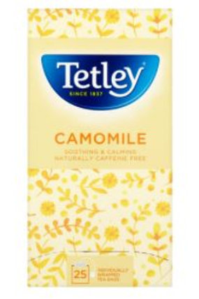 泰利 - 英國洋甘菊茶包 天然無咖啡因 2g x 25包包 天然無咖啡因 2g x 25包