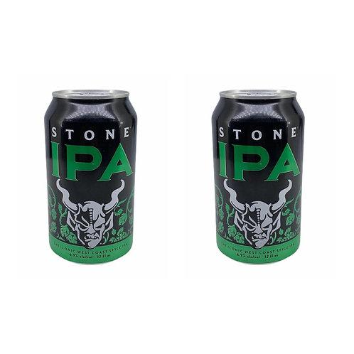 美國 Stone India Pale Ale 手工啤酒 355ml x2 (6.9% ALC./VOL.)