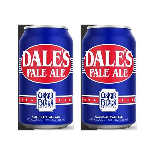 美國 Oskar Blues - Dale American Pale Ale 手工啤酒 355ml x2 (6.5% ALC./VOL.)