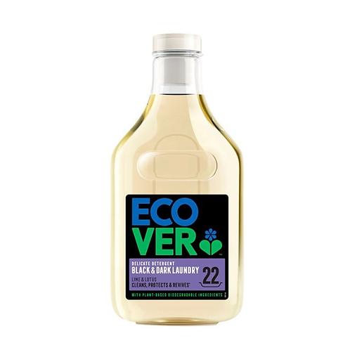 Ecover - 細緻洗衣液1公升 - 青檸蓮花味 (黑色及深色洗衣配方) 適合敏感皮膚使用