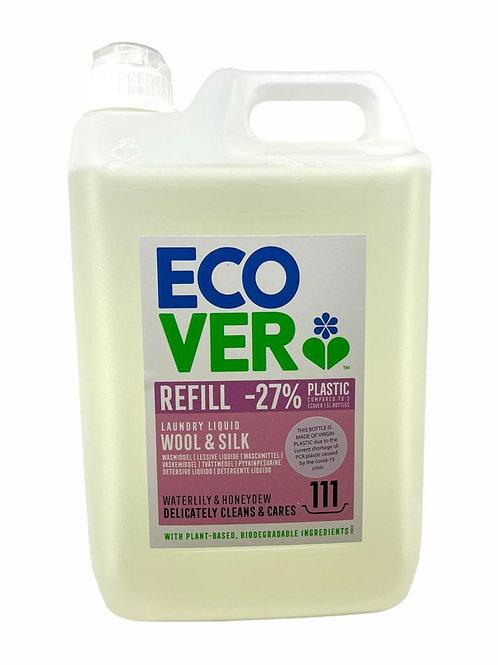 Ecover - 蓮花和甘露洗衣液超大家庭裝 5公升 (用於羊毛和絲綢)
