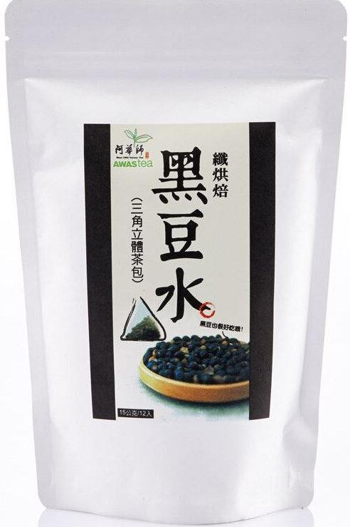 阿華師 - 纖烘焙黑豆水 (15克 x 12包)