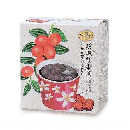 曼寧玫瑰紅棗茶 3g x 15包