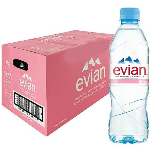 Evian Mineral Water 500ml x 24