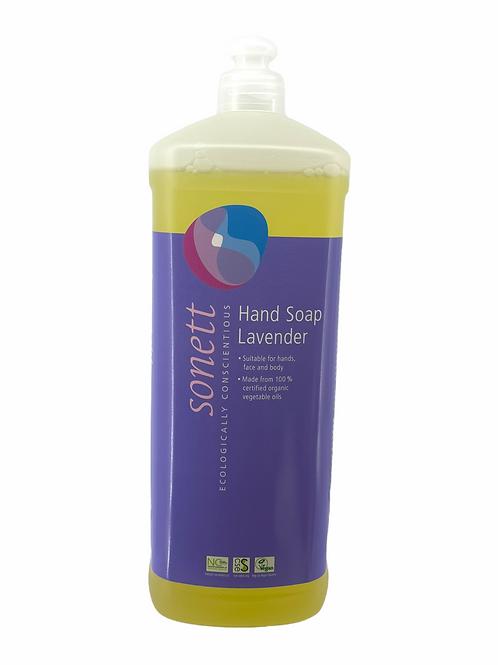德國 Sonett 環保洗手液 - 薰衣草 (1000毫升) 經濟裝