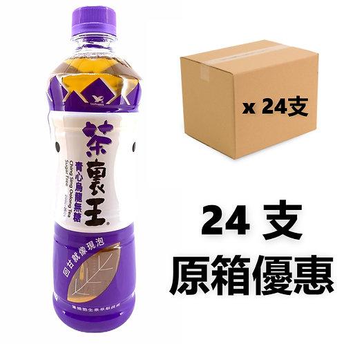 台灣統一集團 - 茶裹王 (無糖) 青心烏龍茶 600 ml x 24