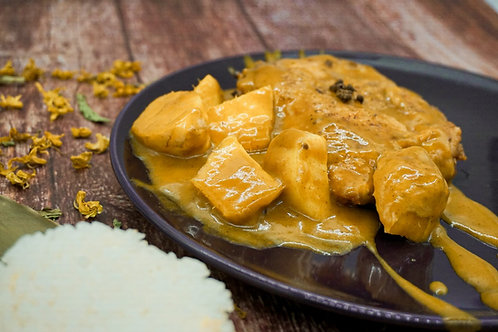 速食王- 咖哩薯仔炆豬扒餸包 350克 (二人份量)