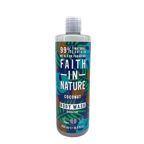 Faith in Nature 椰子保濕沐浴露 400ml