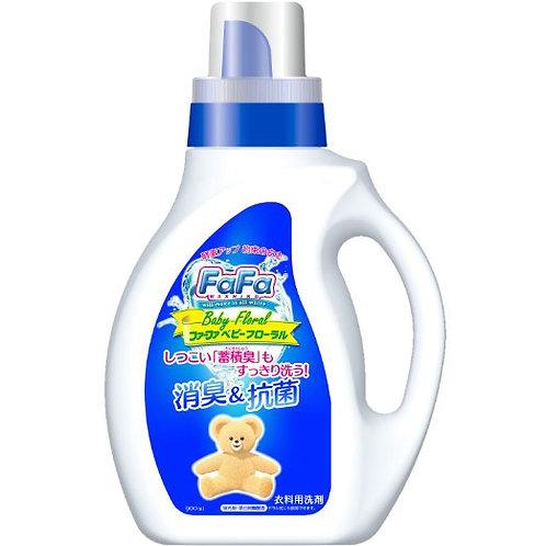 NS Farfa 日本 FaFa 除臭抗菌液體洗滌劑 (嬰兒花香味) 900ml (日本製)