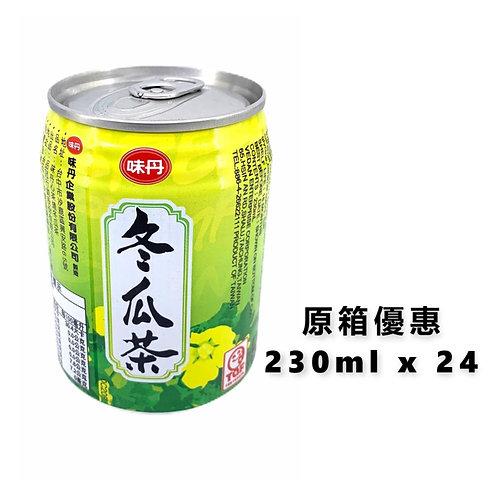 台灣直送 - 味丹心茶道冬瓜茶(冬瓜汁飲料)230ml x24