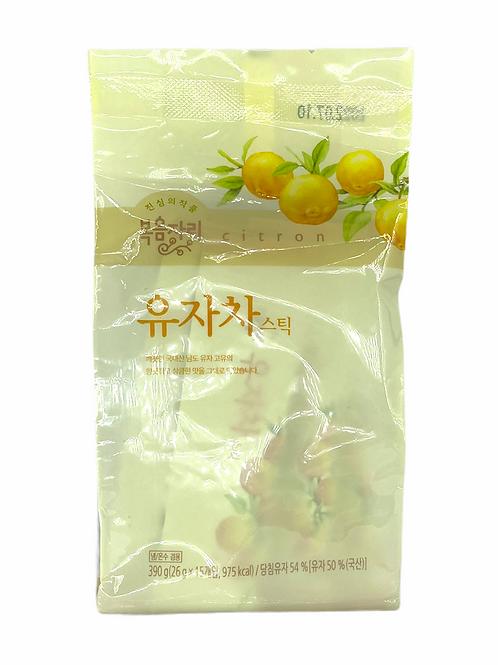 韓國 Bokumjari 柚子茶 (方便裝) - 26g*15杯