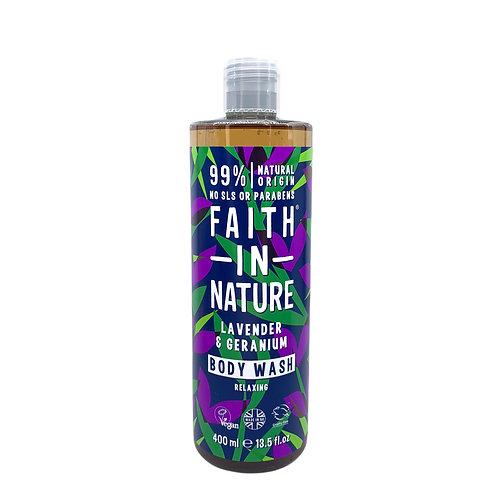 Faith in Nature 薰衣草天竺葵沐浴露 400ml