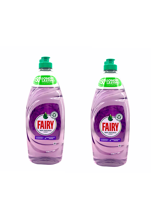 Fairy - 薰衣草和迷迭香洗潔精 625ml x2