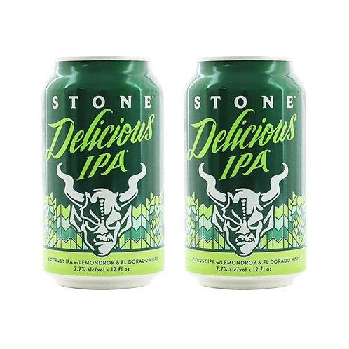 美國 Stone Delicious IPA 手工啤酒 355ml x2 (7.7% ALC./VOL.)