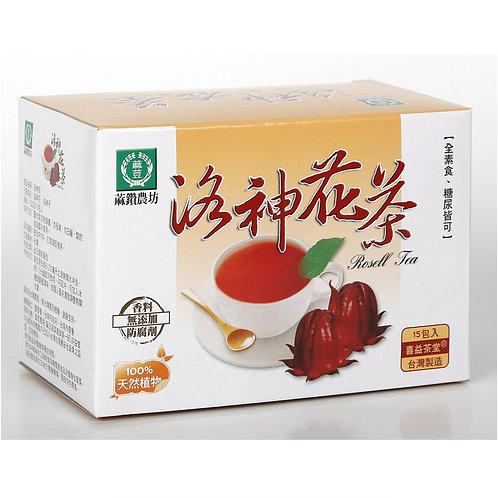 天然優品 - 蔴鑽農坊洛神花茶 3g x 15包