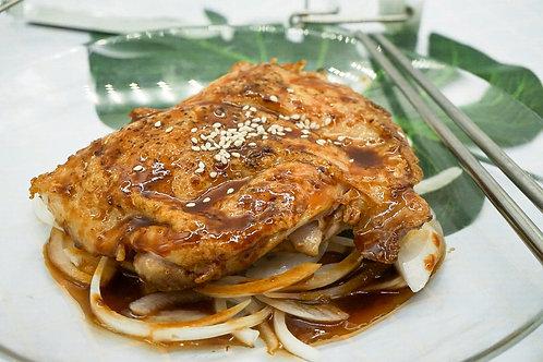 速食王- 日式照燒汁雞扒餸包 350克 (二人份量)