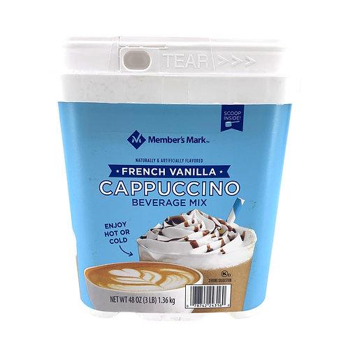 打工仔百貨 - 美國 Member's Mark 法國雲呢拿即溶泡沫咖啡 1.36kg