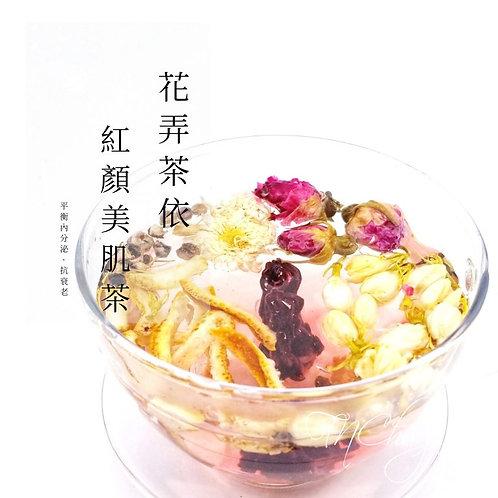 花弄茶依 - 紅顏美肌茶 (9克 x18包)