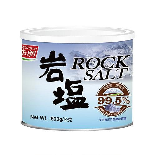 天然優品 - 紅布朗天然岩鹽 600g