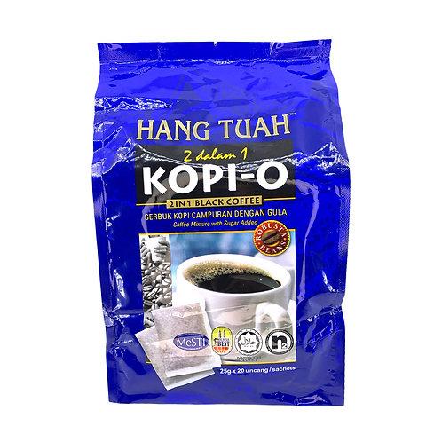 馬拉清真 - 清真漢都亞 2 合1 馬來西亞羅布斯塔豆黑咖啡 25g x 20
