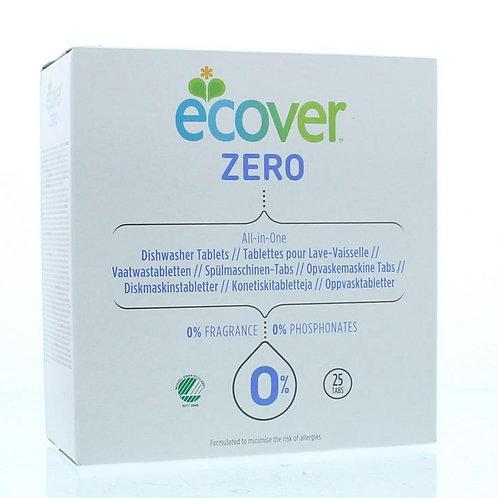 Ecover - Zero 低敏洗碗碟機專用全效清潔劑 25片裝 (多合一)