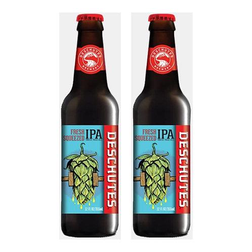 美國 Deschutes - Fresh Squeezed IPA - Indian Pale Ale 手工啤酒 355ml x2 (6.4% ALC./VOL