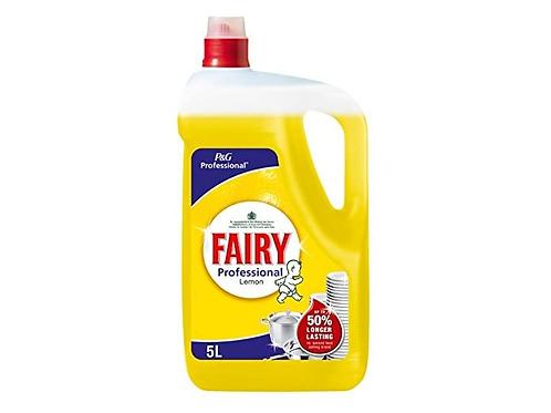 Fairy - 專業洗碗碟清潔液(檸檬味) 5L (經濟裝)