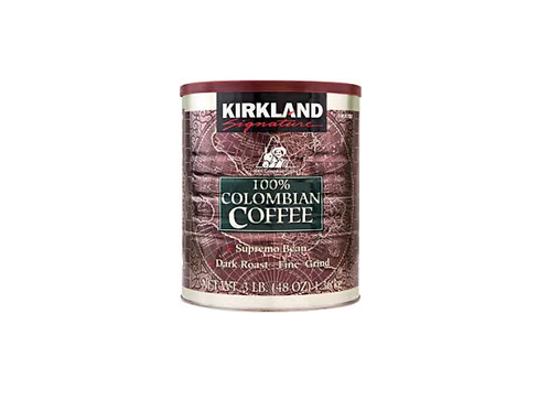 Kirkland Signature - 100% 哥倫比亞深烤細磨咖啡 1.36kg / 3lb