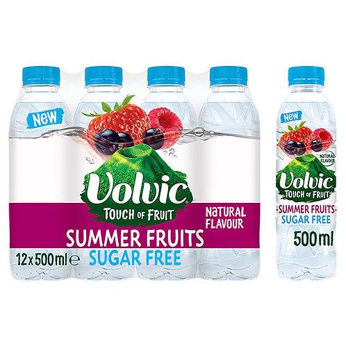 Volvic - 法國天然「無糖」夏日水果味礦泉水 500ml x 12
