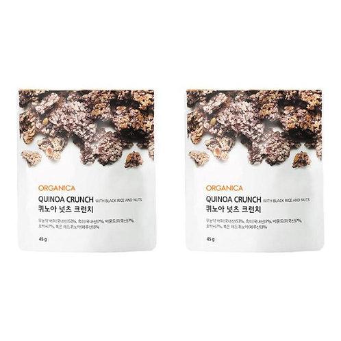 ORGANICA - 天然零食 藜麥果仁脆黑米餅 45克 x2