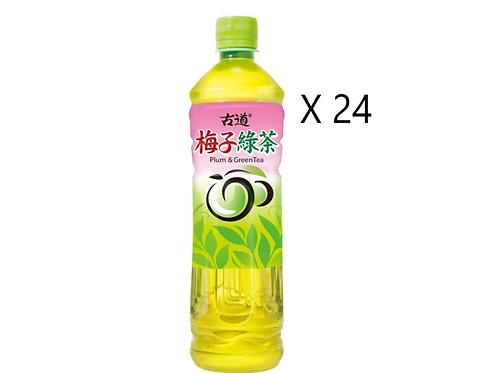 古道梅子綠茶 600ml x24