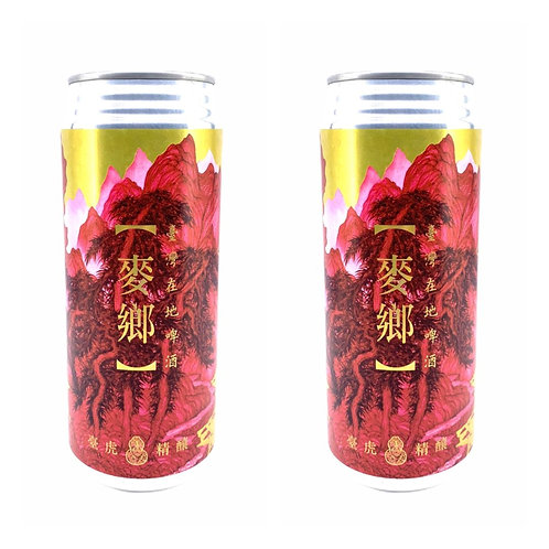 台灣直送手工啤酒 - 臺虎精釀 - 臺虎精釀麥香 500ml x 2