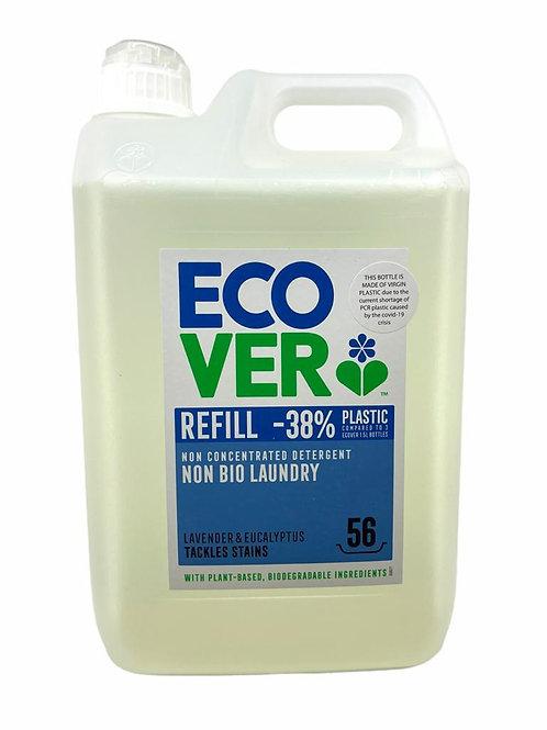 Ecover - 非生物薰衣草和桉樹洗衣液(非濃縮)超大家庭裝 5公升