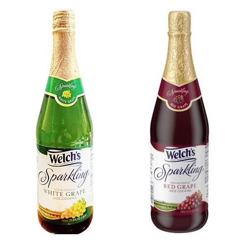 威路氏 - 有氣白葡萄汁750ml x 1 , 有氣紅葡萄汁750ml x 1
