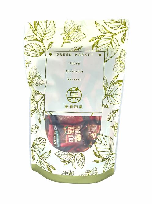 菓青市集玫瑰四物黑糖磚 (10入) 400g