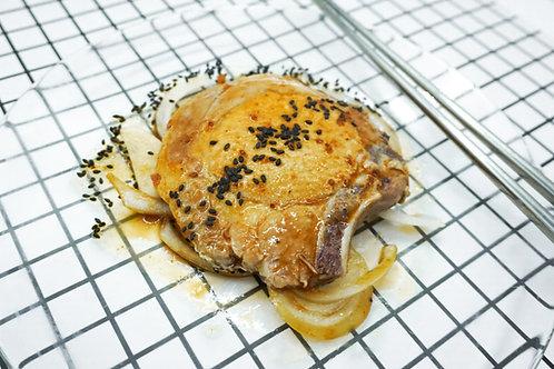速食王 - 日式照燒汁豬扒餸包 350克 (二人份量)