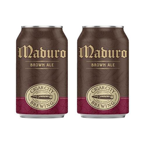 美國 Cigar City - Maduro Brown Ale 手工啤酒 355ml x2 (5.5% ALC./VOL.)