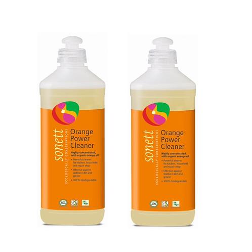 天然優品 - 環保香橙強效潔液(德國進口品牌 Sonett) 500毫升x 2