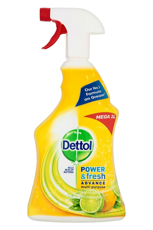 滴露 - 多用途清新消毒清潔劑大支裝 1 公升(檸檬青檸味)